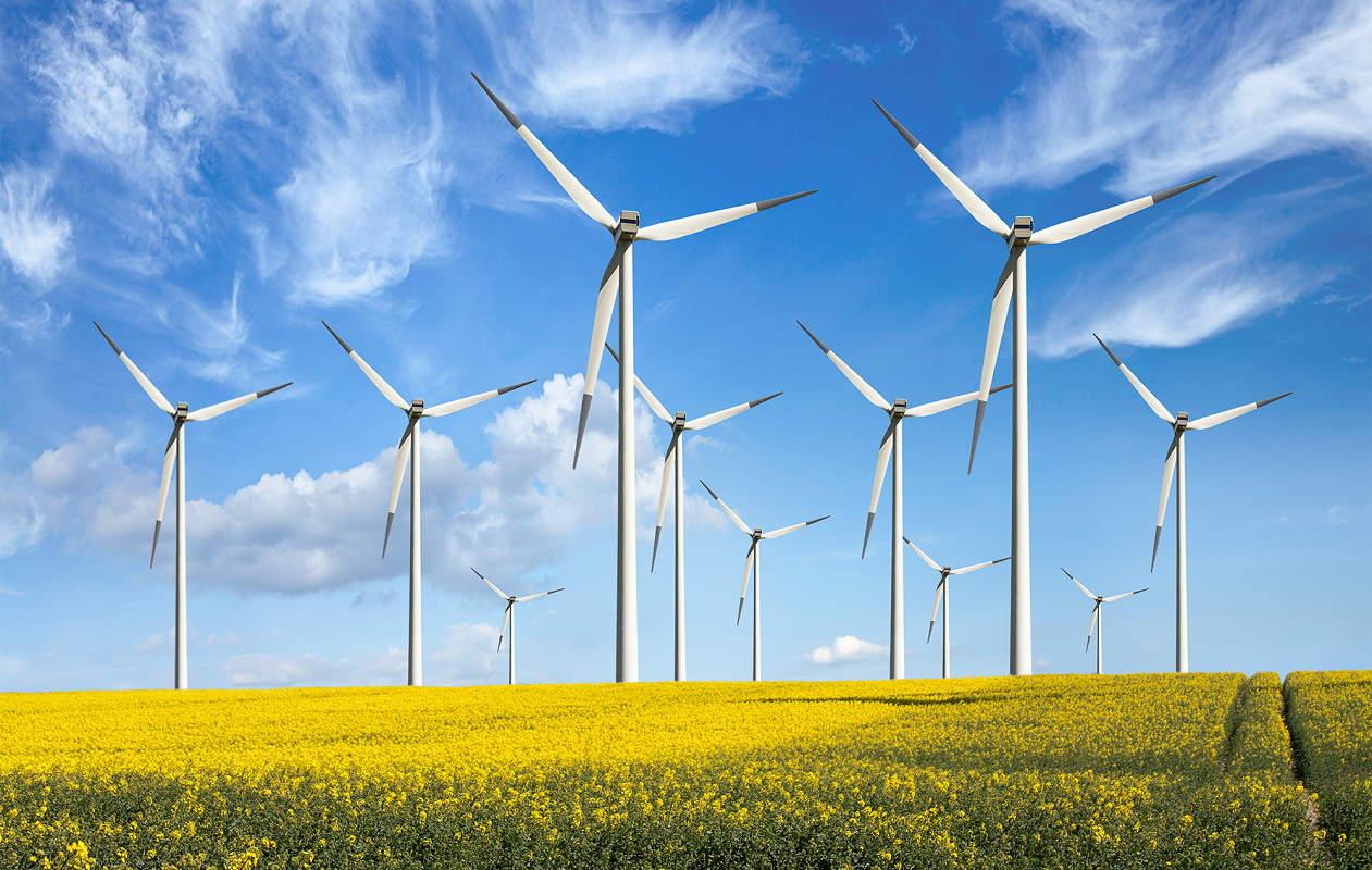 توربین بادی از جنس فایبرگلاس